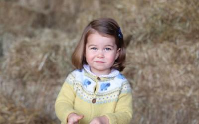 La princesa Charlotte, nieta de la fenecida Lady Diana, cumple dos años...