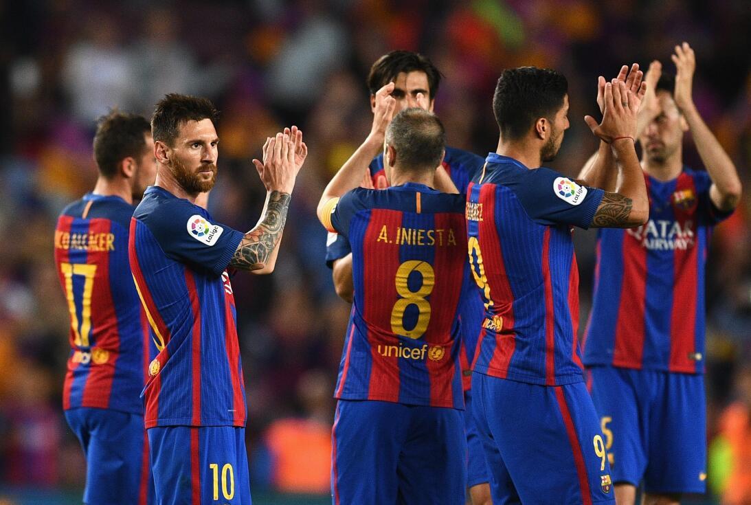 El resto de La iga 2016-2017 sólo trajo victorias para el Barcelona. Ven...