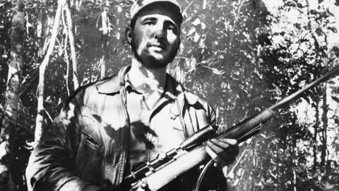 Fidel Castro in 1957.