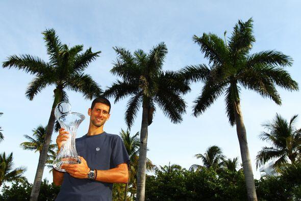Miami siempre se le ha dado bien al de Belgrado que ganó aquí en 2007 su...