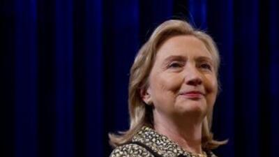 La secretaria de Estado, Hillary Clinton asiste a Los Cabos, México para...