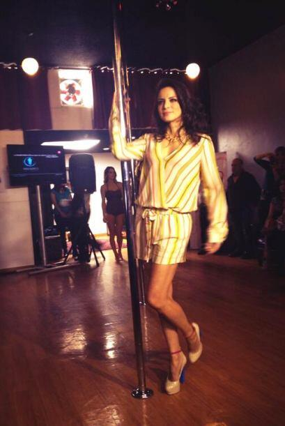Así que la veremos bailando muy sexy en Univision.