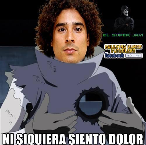 Guiilemor OChoa volvió a recibir siete goles en un partido en la derrota...