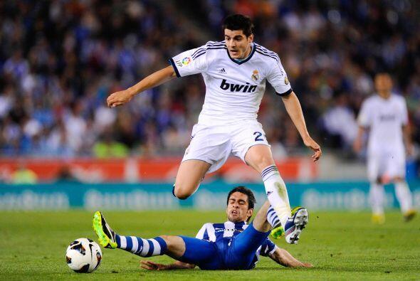 El Madrid apretó en busca del empate.