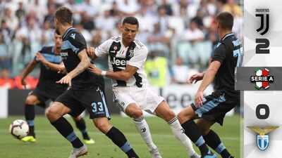 CR7 sigue sin anotar, pero la Juventus vence a la Lazio e hilvana segundo triunfo