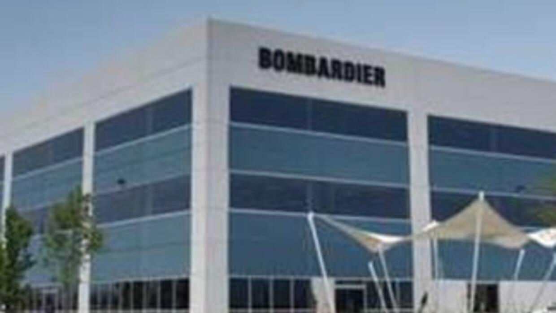 Imagen tomada de Twitter de las instalaciones de Bombardier en Querétaro...