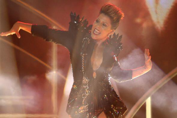 Alejandra Guzmán puso a bailar a las bellas con sus grandes &eacu...
