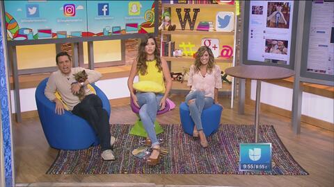 Alejandro, Karla y Ana intentaron hacer un nudo con las piernas