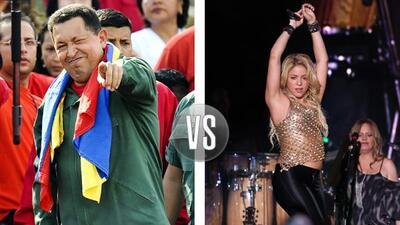 Shakira negó que le haya enviado un obsequio al Presidente de Venezuela.