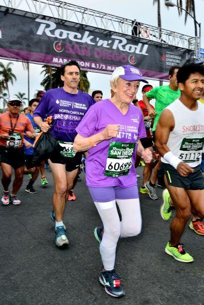 Hace quince años Harriette decidió comenzar a correr ya que uno de sus a...