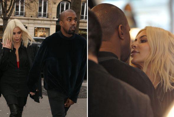 A Kanye lo tiene fascinado con su melena dorada.