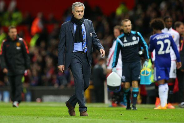 El cuadro de José Mourinho se iba de casa del United con un solo punto,...