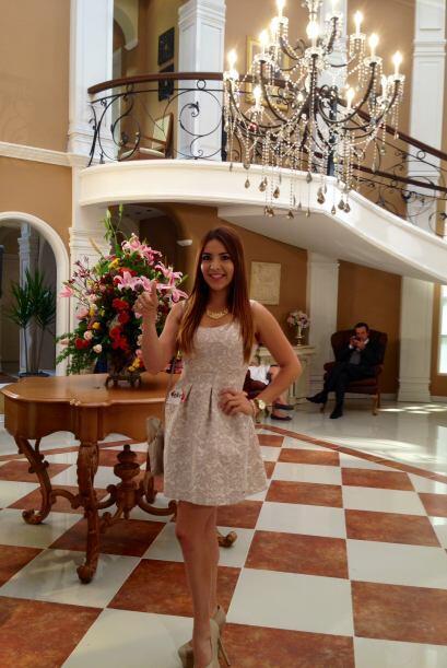 Estaremos pendientes de Aly y sus estudios en Televisa.