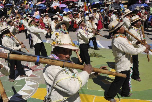 El cierre del Carnaval de Bolivia tiene como celebraciones las del 'Mart...