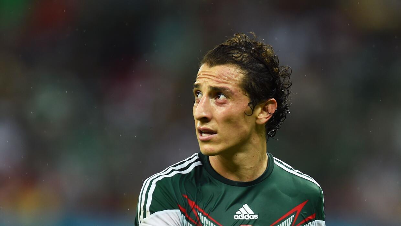 Andrés Guardado no llegará al partido clasificatorio para la Copa COnfed...