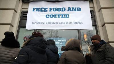 Comida gratis durante el cierre parcial de gobierno en el sur de California