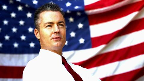 Travis Allen, candidato republicano a gobernador de California.