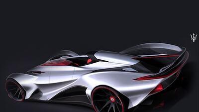 Este es un Superauto Maserati que fue inspirado en Lionel Messi