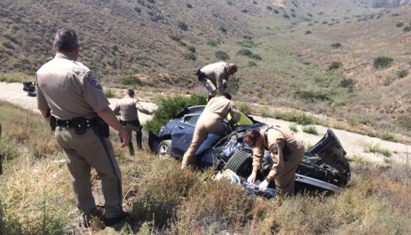 El accidente fue en la noche del miércoles y el rescate el jueves.