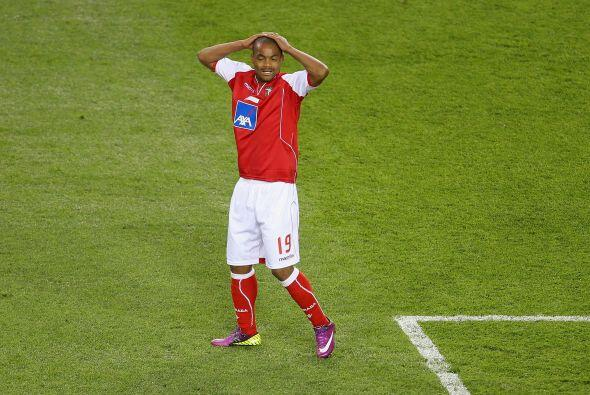 El desconsuelo se veía en todo el plantel del Braga.