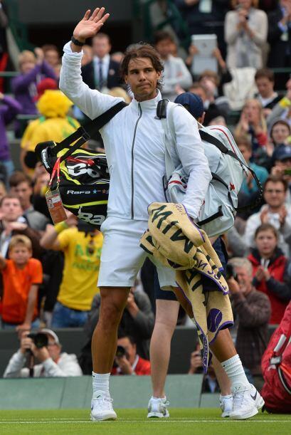Rafa indicó que así pasa en el deporte y en esta ocasión no le salieron...