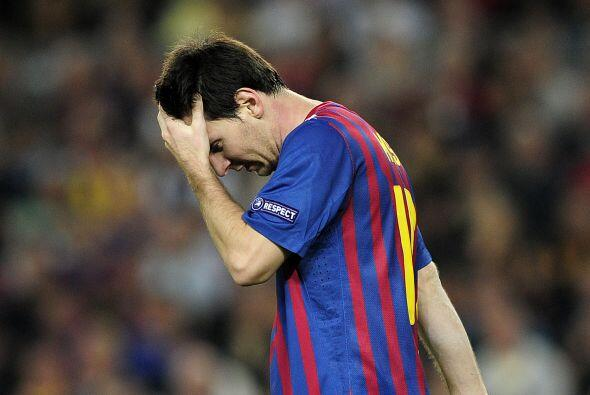 Lionel terminó sin entender la cantidad de chances que perdió.