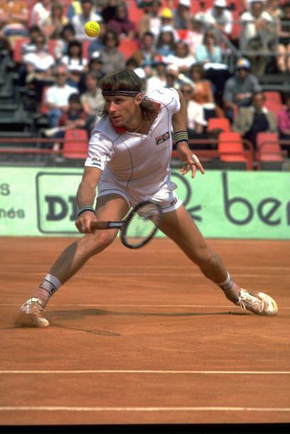 Borg es el tenista varonil que más triunfos ha tenido en Roland G...