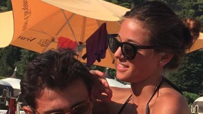 Alicia Verrando, amante de mundo fitness, es la novia de una de las estrellas de Portugal