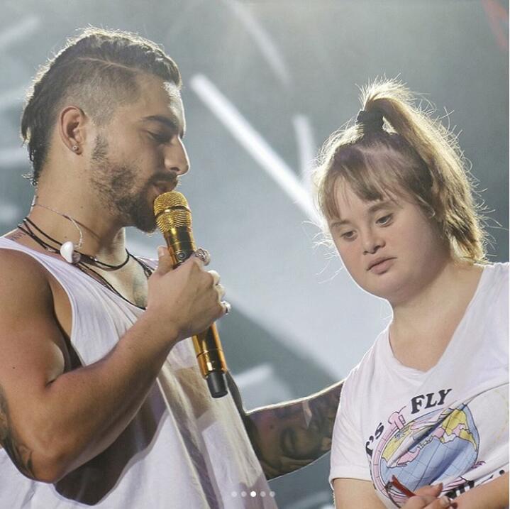 Malum y niña con síndrome de Down en Tenerife