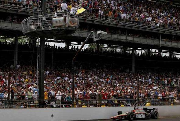 Sin duda, un final de película para la edición 100 de la Indy 500.