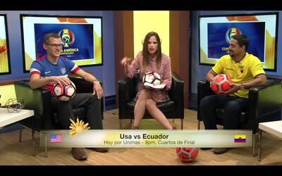 Se calienta los ánimos por el juego de EE.UU. vs Ecuador