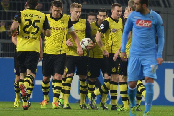 Los alemanes no tardaron en irse al frente gracias a un penalti converti...