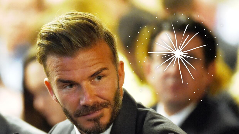 David Beckham es el primer embajador global de la línea de cuidado de la...