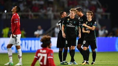 Real Madrid y su última Supercopa: los 'Diablos Rojos' no pudieron con el equipo de Zidane