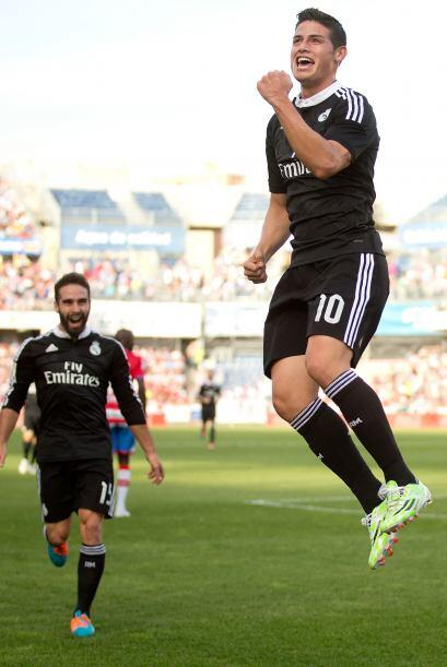 Real Madrid goleó al Granada y se adueñó del lidera...