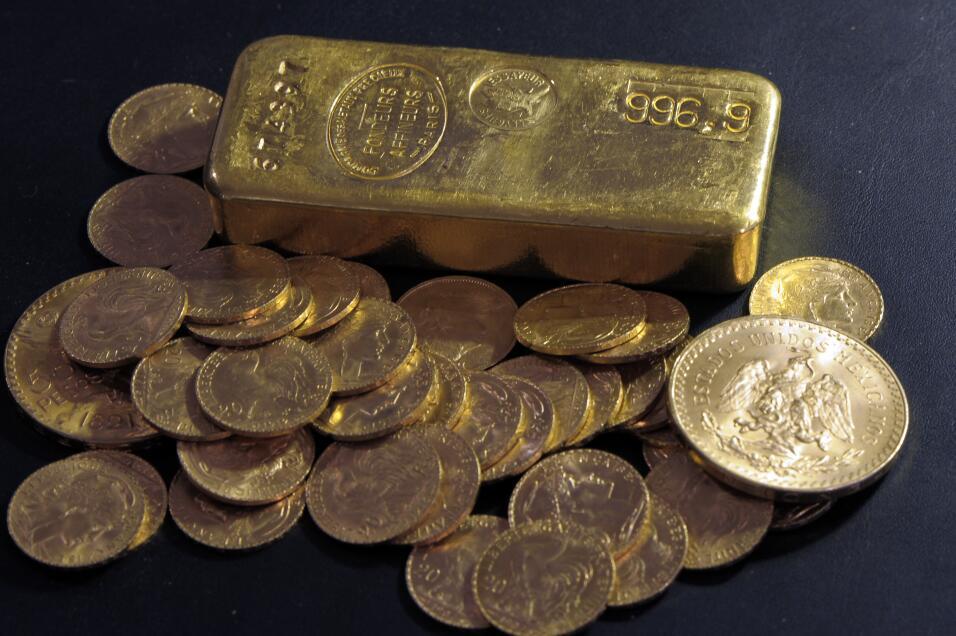 Un francés halló las monedas de oro escondidas en distintos espacios de...