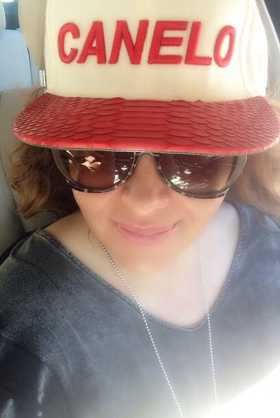 Jessica Maldonado viajó a Las Vegas para asistir a la pelea de Saúl 'El...