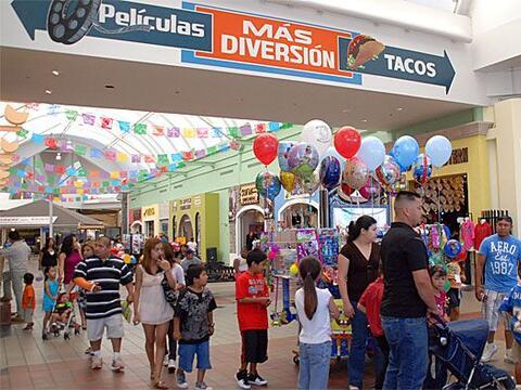La Gran Plaza de Fort Worth, es un centro comercial visitados por miles...