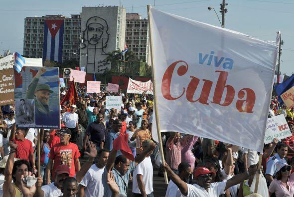 El presidente de Cuba, Raúl Castro, encabezó el sáb...