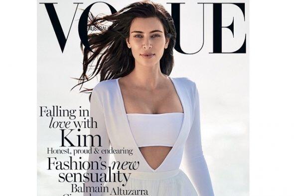 ¡Kim Kardashian lo hizo de nuevo!