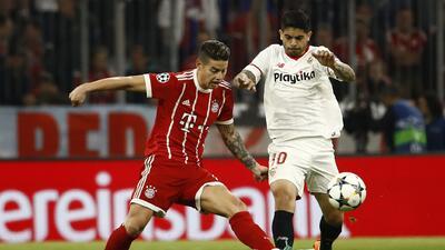 En fotos: Bayern Munich es semifinalista al empatar en casa contra Sevilla en Champions