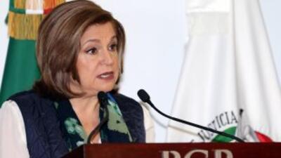 Arely Gómez González, procuradora mexicana.