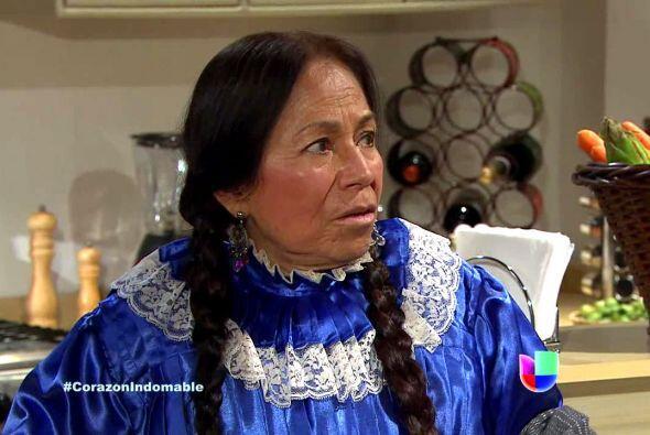 La india María en 'Corazón Indomable'.