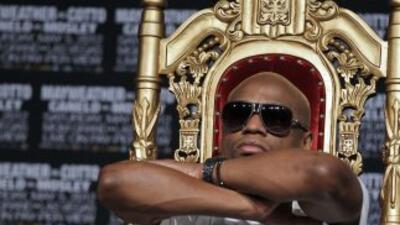 Mayweather Jr. el rey del dinero.