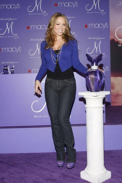 12.- Mariah Carey también buscó probar suerte en este sector y lo logró...