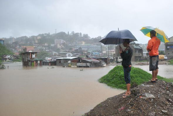 La tormenta tropical Ketsana y el tifón Parma, en septiembre y octubre d...