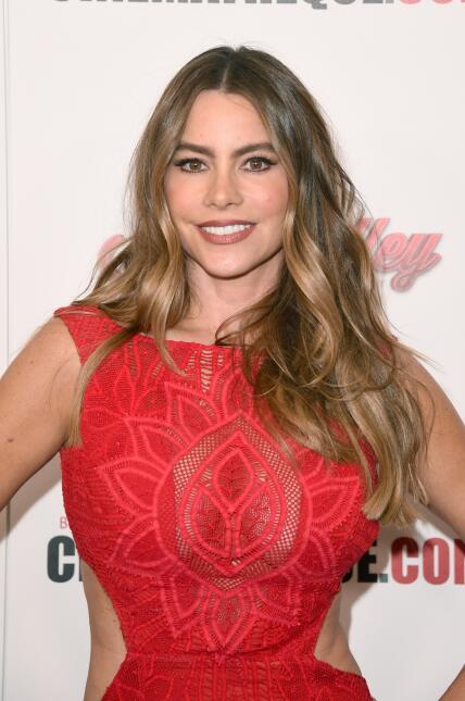 Sofía Vergara apoyando a Reese.