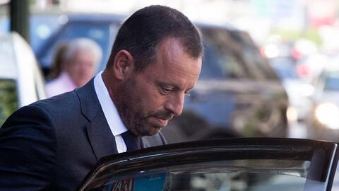 Sandro Rosell, expresidente de Barcelona FC.