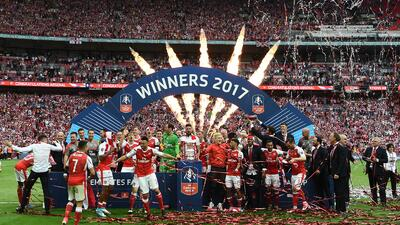 Arsenal se coronó campeón de la FA Cup en Inglaterra