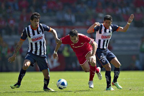 El refuerzo Juan Manuel Salgueiro anotó el segundo gol y con esto amarró...